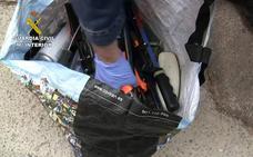 Cae una banda que perpetró más de 70 robos en Granada, Almería y Málaga