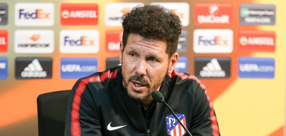 Simeone: «Torres será un icono del Atlético; yo pedí que volviera»
