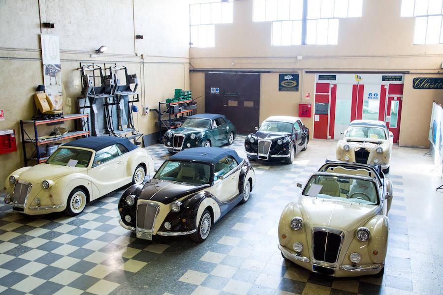 Los coches de lujo 100% granadinos