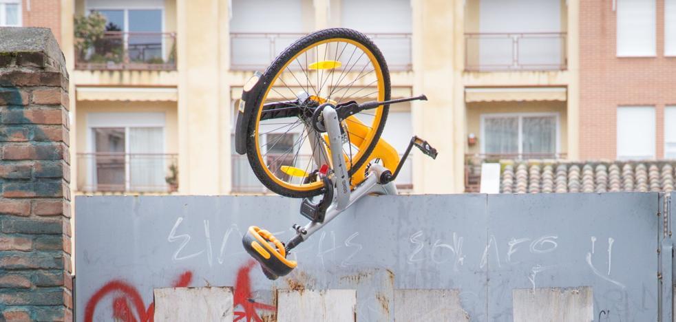 El día que 'llovieron' bicicletas en Granada