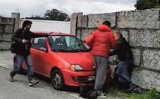 Dos encapuchados apalean al capo del narcotráfico gallego y su hijo en su chalé