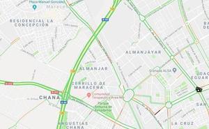 Restablecido el tráfico en la Circunvalación tras los 17 kilómetros de retenciones
