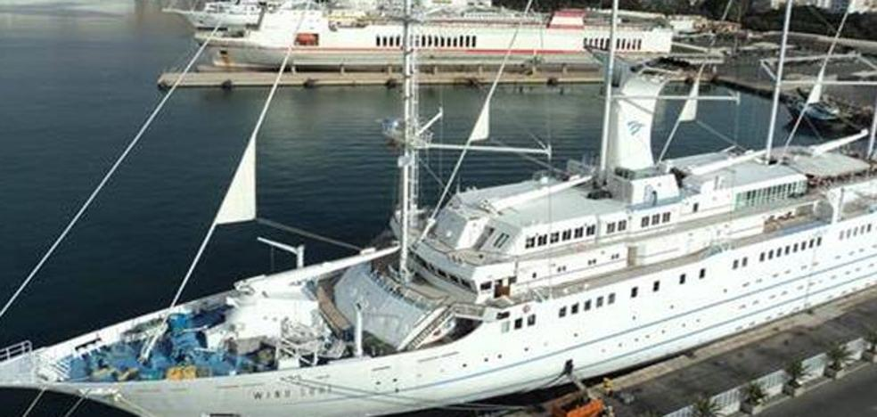 Los cruceros Silver Wind y Wind Surf llenarán el puerto de Almería