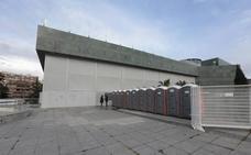 La Policía Local clausura el escenario del Palacio de Congresos para el 'Granada Experience' por falta de licencia