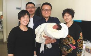 Nace el bebé de un matrimonio cuatro años después del fatal accidente que costó la vida a ambos