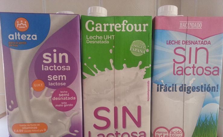 Así son las marcas blancas de la leche de Dia, Carrefour, Lidl y Mercadona