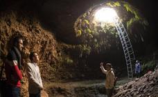 La Alhambra protege y consolida los restos arqueológicos de una de sus mazmorras