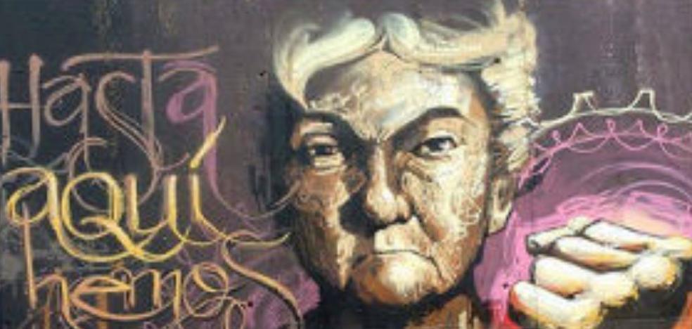 ¿Has visto en Granada este grafiti de El Niño de las Pinturas?