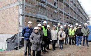 Las obras de la Residencia de Mayores de Lanjarón estarán listas en el mes de junio