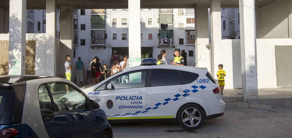 Un detenido en Granada por lesionar con un cuchillo a un varón en Pedro Antonio de Alarcón