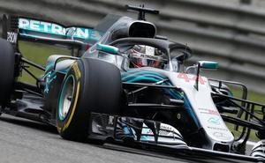 Hamilton pierde el ritmo