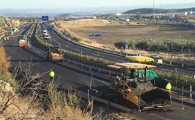La Junta prevé iniciar en breve las obras de conexión de la Autovía del Olivar con la A-32 en Baeza