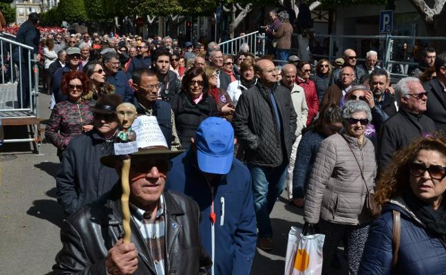 Almería se moviliza de nuevo hoy contra la «inadmisible» subida de las pensiones del PP