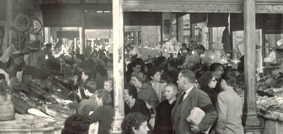 El antiguo mercado de la Romanilla