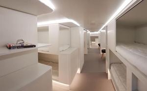 Los aviones del futuro tendrán camas en vez de asientos