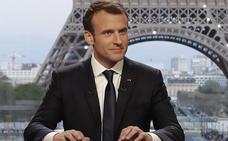 Macron afirma que Francia «no ha declarado la guerra a Siria»