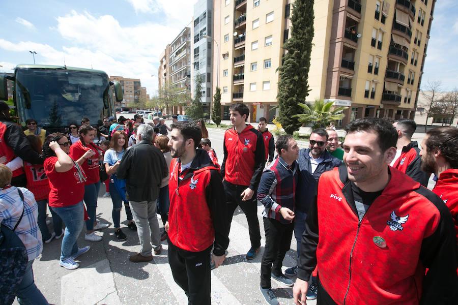 Los héroes del ascenso ya están en Granada