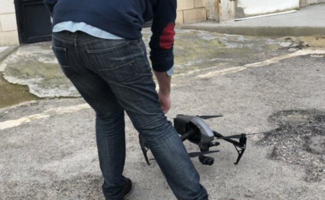 La Policía Local prueba drones para vigilar en un futuro la ciudad