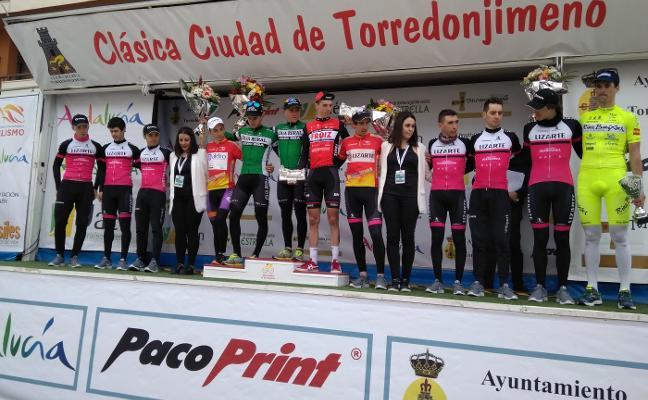 El cordobés Antonio Gómez gana la Clásica de Torredonjimeno y Antonio Soto sigue líder