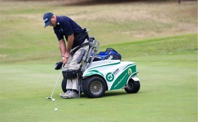 El tremendo ejemplo de superación de un golfista parapléjico: «Andar no tiene tanta importancia»