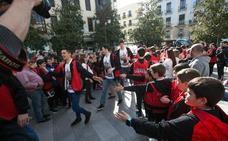 El Covirán festeja en el Ayuntamiento el ascenso a la LEB Oro