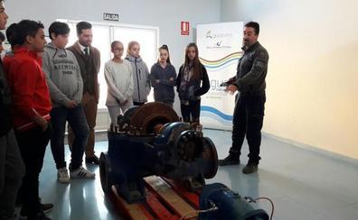 Aguasvira inaugura las visitas educativas a la planta de potables del Chaparral