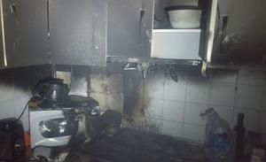 Dados de alta el padre y su hijo afectados por inhalación de humo en el incendio de su casa en Jaén