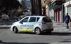 Agrede brutalmente a su pareja y a su bebé, a quien la mujer llevaba en brazos en Málaga