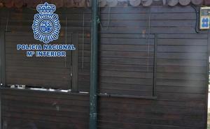 Dos detenidos por llevarse 130 euros y un televisor de un gimnasio en la zona norte de Granada