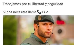 «¡Viva el cuerpo, yo me dejo multar»!: el tuit de la Guardia Civil (con un agente) que ha revolucionado la Red
