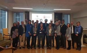 La UGR acoge una delegación de la Brown University para promover mayor colaboración en el ámbito de la Salud