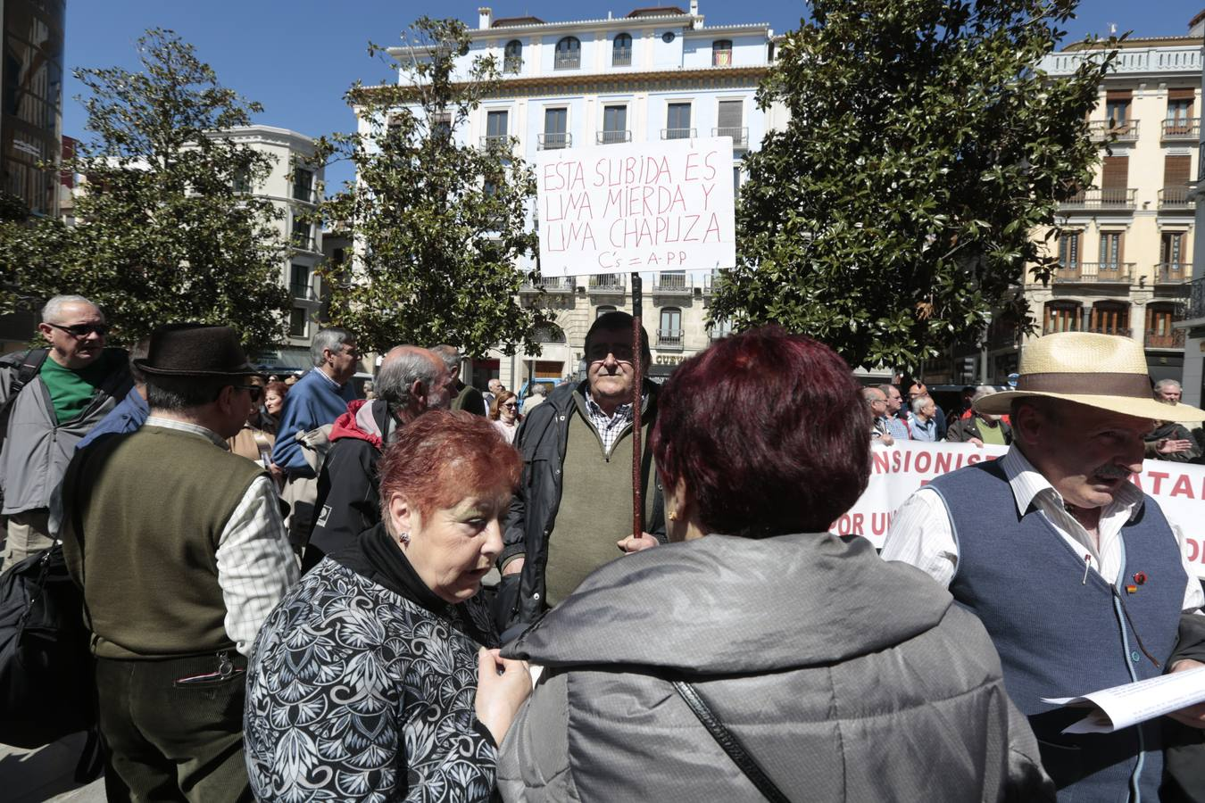 Granada, en defensa de las pensiones
