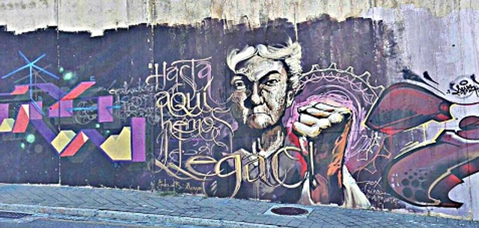El mirador de los grafitis