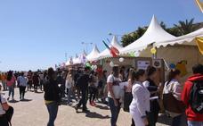 Los cinco continentes en la Feria de las Naciones de la UAL