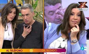Gil Silgado reniega de su hija Anabel en 'Sálvame': «Yo nada más tengo una hija y se llama Alba Gil»
