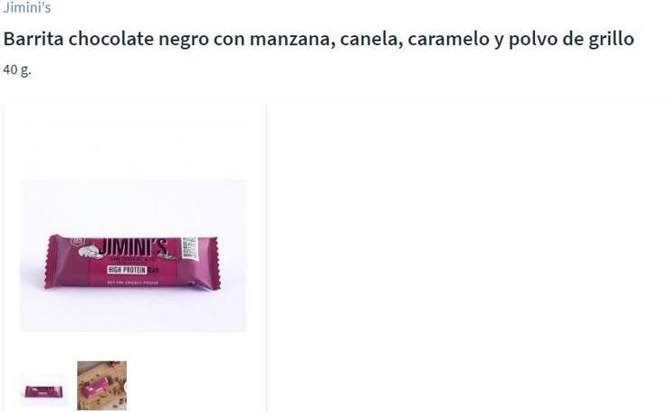 Así son los productos Carrefour a base de insectos
