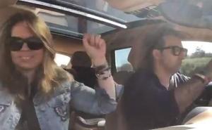 Iker Jiménez y Carmen Porter revolucionan las redes sociales con un sorprendente vídeo en su coche