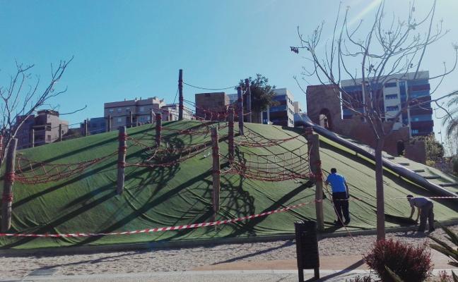 El Consistorio reformará la Alcazaba del Parque de las Familias de forma integral