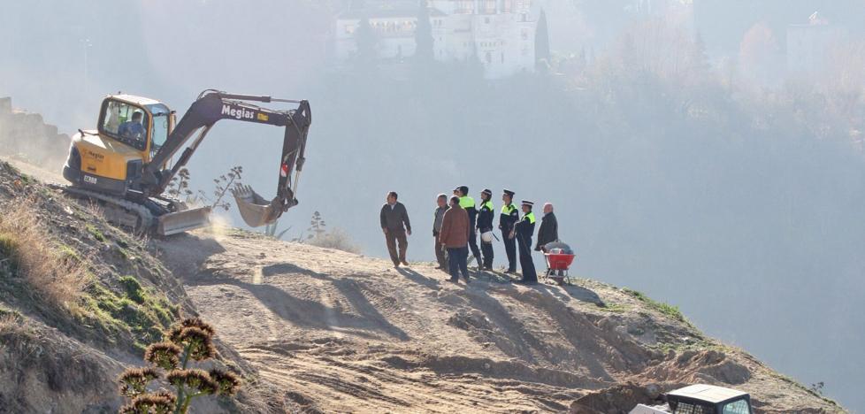 Resuelven intervenir para convertir el cerro de San Miguel en un parque y acabar con las cuevas ocupadas