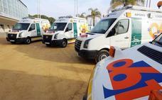 Heridas cuatro personas, dos de ellos menores, en una salida de vía en Huétor Tájar
