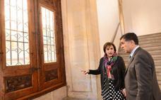 La Junta restaura pinturas y elementos de la Real Chancillería