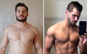 Abdominales de infarto: el secreto de un «gordito» para perder 19 kilos en 12 semanas