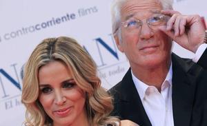 Richard Gere y la española Alejandra Silva ya son marido y mujer