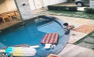 Un niño de 7 años salva a su hermano de morir ahogado en la piscina