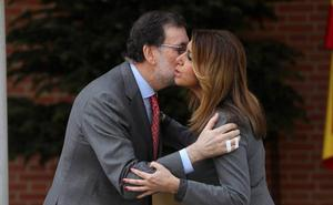 Rajoy promete a Susana Díaz desbloquear la nueva financiación «de forma inmediata»