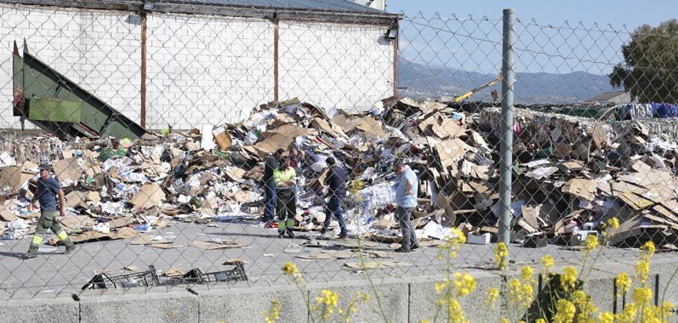 Hallan un cadáver «destrozado» en una planta de reciclaje de Granada