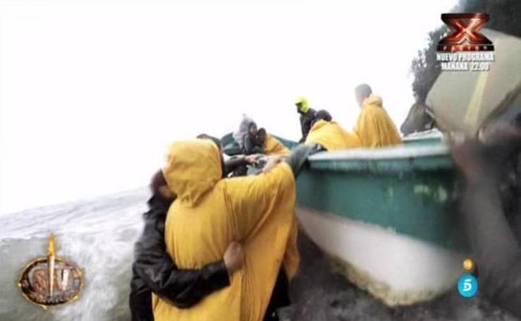La evacuación de 'Supervivientes' en imágenes