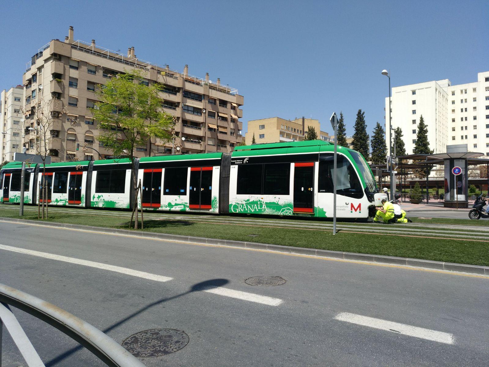 Avería en una unidad del metro de Granada