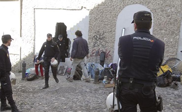 Los 10 problemas de la okupación en el Albaicín