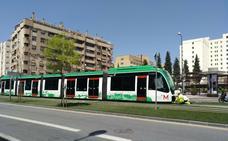 La avería de una unidad del metro de Granada impide el paso normal de los trenes durante una hora